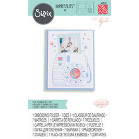Sizzix - Impresslits - Die and Embossing Set - Instant Camera