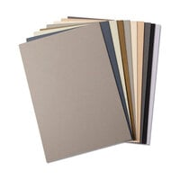 Sizzix - Making Essentials Collection - 60 Pack - Cardstock Sheets - Neutrals