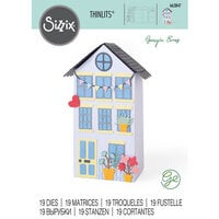 Sizzix - Thinlits Dies - No Place Like Home