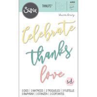 Sizzix - Thinlits Die - Occasion Phrases