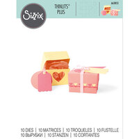 Sizzix - Thinlits Die - Box and Labels