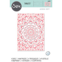 Sizzix - Thinlits Die - Kaleidoscope Layers