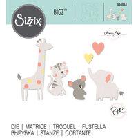 Sizzix - Bigz Die - Zoo Friends