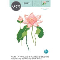 Sizzix - Thinlits Die - Layered Water Flower