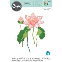 Sizzix - Thinlits Die - Layered Water Flower