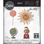 Sizzix - Tim Holtz - Thinlits Die - Circle Play