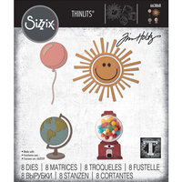 Sizzix - Tim Holtz - Thinlits Die - Circle Play