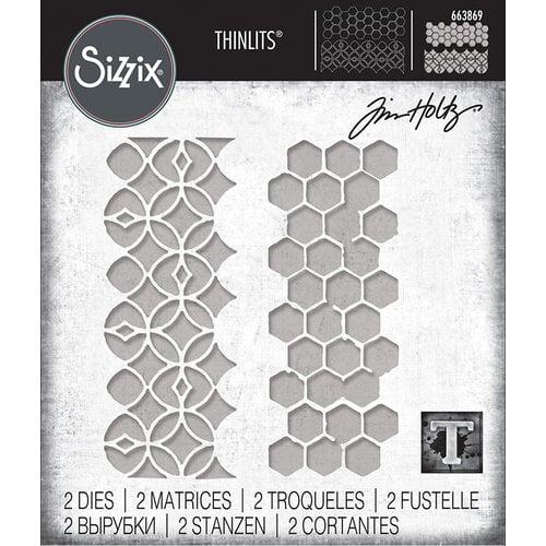 Sizzix - Tim Holtz - Thinlits Die - Pattern Repeat