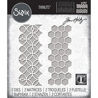 Sizzix - Tim Holtz - Thinlits Die - Pattern Repeat