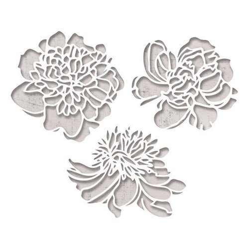 Sizzix - Tim Holtz - Alterations Collection - Thinlits Die - Cutout Blossoms