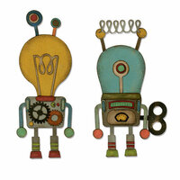 Sizzix - Tim Holtz - Alterations Collection - Thinlits Die - Robotic