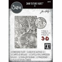 Sizzix - Tim Holtz - Alterations Collection - 3D Textured Impressions Embossing Folder - Elegant