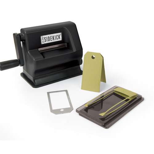 Sizzix - Tim Holtz - Alterations Collection - Sidekick - Starter Kit - Black