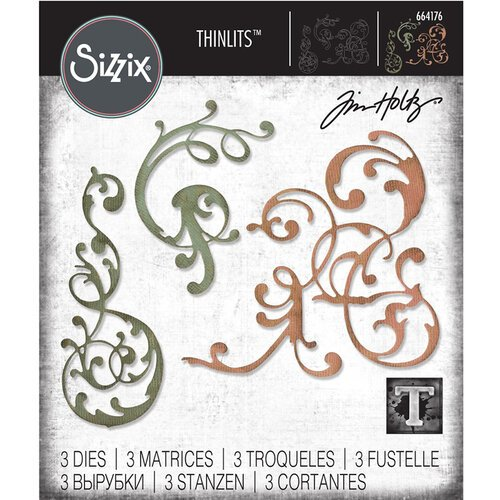 Sizzix - Tim Holtz - Alterations Collection - Thinlits Die - Adorned