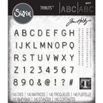 Sizzix - Tim Holtz - Alterations Collection - Thinlits Die - Alphanumeric Label