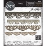 Sizzix - Tim Holtz - Alterations Collection - Thinlits Die - Crochet
