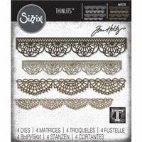 Sizzix - Tim Holtz - Alterations Collection - Thinlits Die - Crochet
