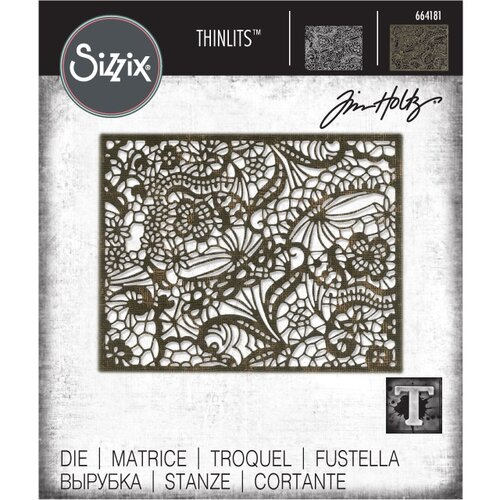 Sizzix - Tim Holtz - Alterations Collection - Thinlits Die - Intricate