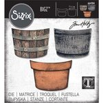 Sizzix - Tim Holtz - Alterations Collection - Bigz Die - Potted