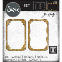 Sizzix - Tim Holtz - Alterations Collection - Bigz Die - Trinket Frames