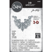 Sizzix - Tim Holtz - 3D Impresslits - Embossing Folder - Fanciful