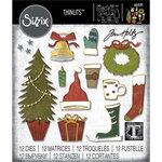 Sizzix - Christmas - Thinlits Die - Festive Things