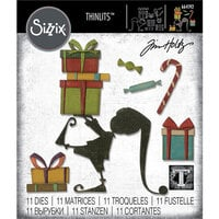 Sizzix - Tim Holtz - Christmas - Thinlits Die - Santa's Helper