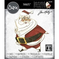 Sizzix - Christmas - Thinlits Die - Jolly St. Nick