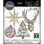 Sizzix - Thinlits Die - Geo Christmas