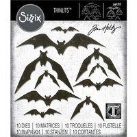 Sizzix - Tim Holtz - Halloween - Thinlits Die - Bat Crazy