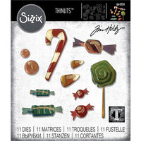 Sizzix - Halloween - Thinlits Die - Sweet Treats