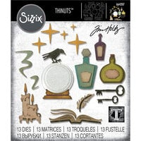 Sizzix - Halloween - Thinlits Die - Regions Beyond