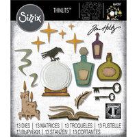 Sizzix - Tim Holtz - Halloween - Thinlits Die - Regions Beyond