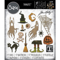 Sizzix - Tim Holtz - Halloween - Thinlits Die - Frightful Things