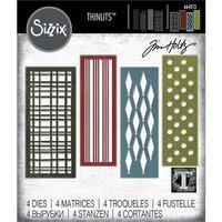 Sizzix - Tim Holtz - Thinlits Die - Festive Repeat