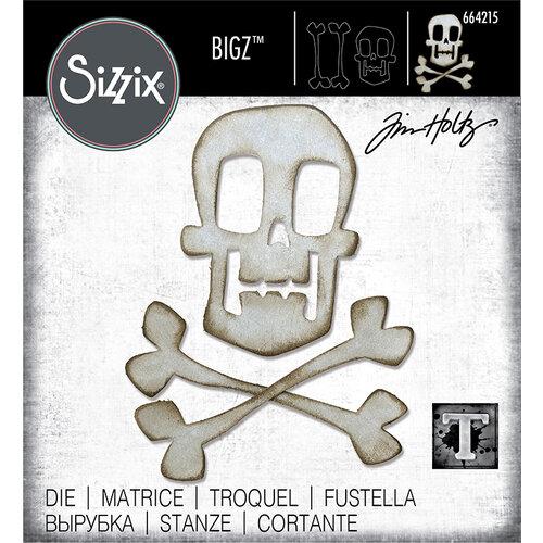 Sizzix - Halloween - Bigz Die - Skull & Crossbones