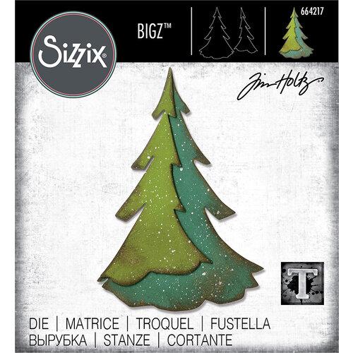Sizzix - Christmas - Bigz Die - Layered Pine