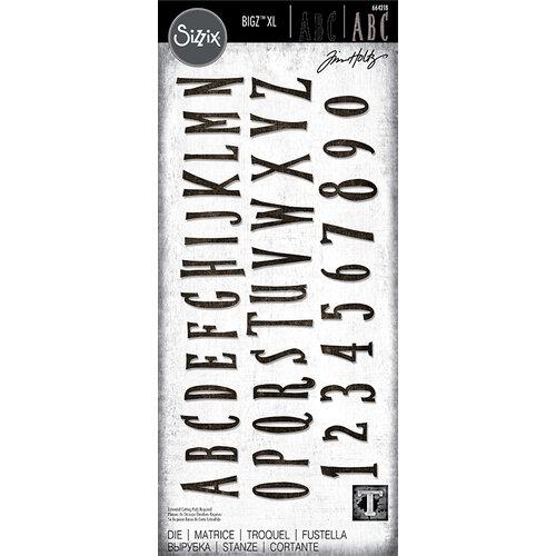 Sizzix - Bigz XL - Alphabet Die - Handmade