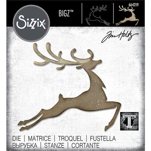 Sizzix - Christmas - Bigz Die - Reindeer