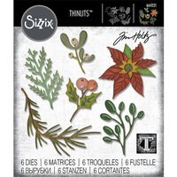 Sizzix - Christmas - Thinlits Die - Large Funky Festive