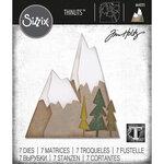 Sizzix - Tim Holtz - Thinlits Die - Alpine