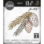 Sizzix - Christmas - Tim Holtz - Thinlits Die - Pine Branch