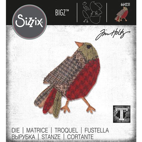 Sizzix - Tim Holtz - Bigz Die - Patchwork Bird