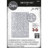 Sizzix - Tim Holtz - 3D Texture Fade Embossing Folder - Brickwork