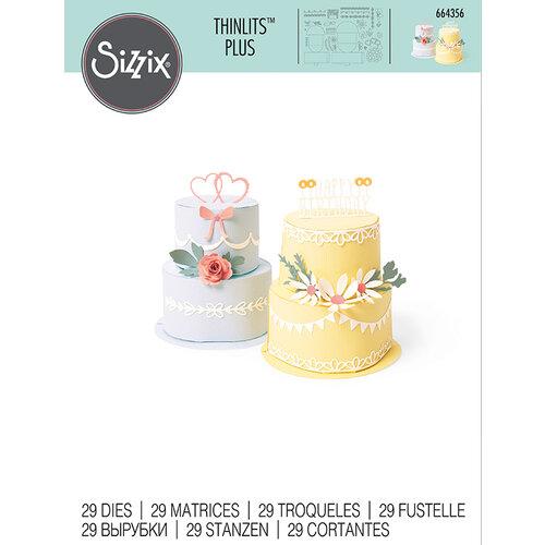 Sizzix - Thinlits Die - Cake Pop-Up