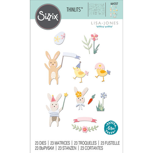 Sizzix - Thinlits Die - Easter Celebration