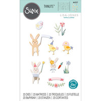 Sizzix - Thinlits Die - Easter Celebration