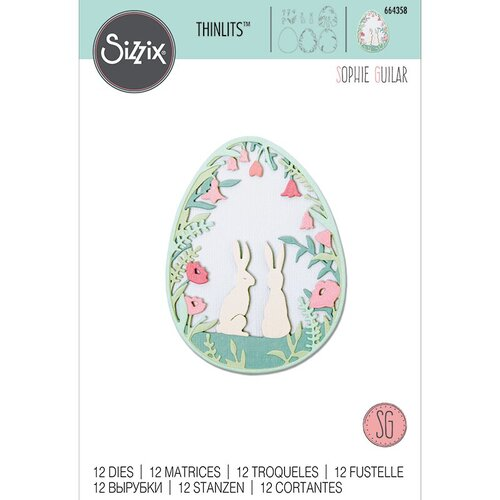 Sizzix - Thinlits Die - Layered Spring