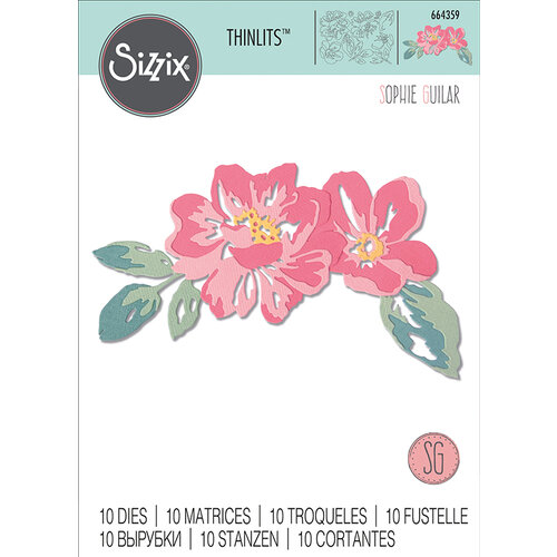 Sizzix - Thinlits Die - Floral Layers