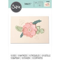 Sizzix - Thinlits Die - Peony Pop-Up